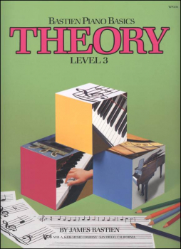 Bastien Piano Basics Theory Level 3