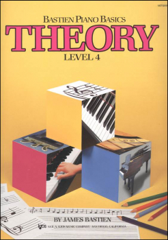 Bastien Piano Basics Theory Level 4