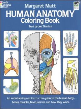 Human Anatomy Coloring Book