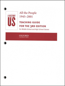 All the People Teaching Guide (History of US Volume 10 3rd Edition Revised)