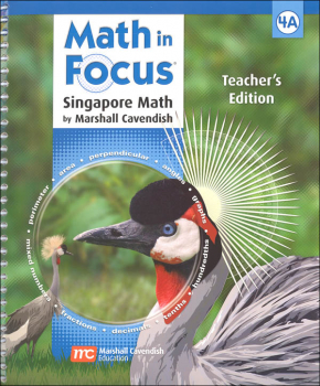 Math in Focus Grade 4 Teachers Edition Book A 1st Semester