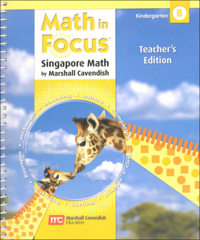 Math in Focus Grade K Teachers Edition Book B 2nd Semester