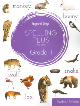 Purposeful Design Spelling Plus - Grade 1 Student Edition
