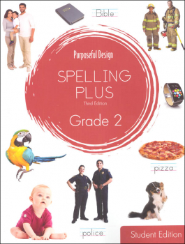 Purposeful Design Spelling Plus - Grade 2 Student Edition