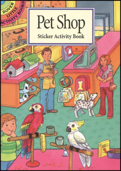 Pet Shop Small Sticker Picture Book