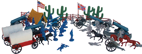 American Civil War Battle Play Set Bucket