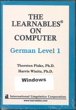 German Level 1 - Learnables 3 Disc Set