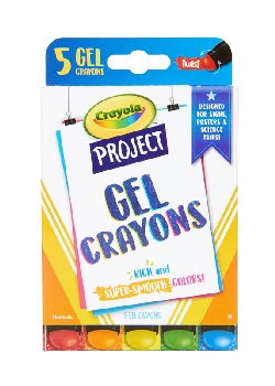 Crayola Project: Gel Crayons (5 count)