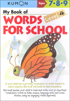 My Book of Words for School Level 4 (Grades 2-4)