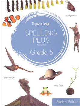 Purposeful Design Spelling Plus - Grade 5 Student Edition