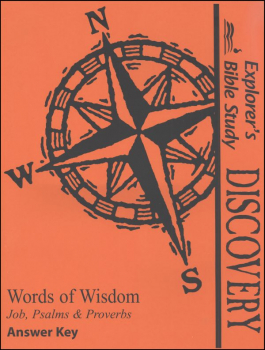 Discovery: Words of Wisdom Answer Key