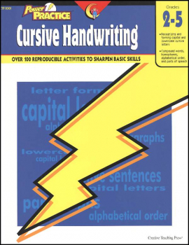 Cursive Handwriting (Power Practice)
