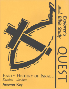 Quest: Early History of Israel Answer Key