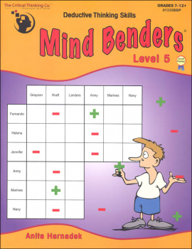 Mind Benders Book 5 (Deductive Thinking Skills)