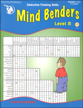 Mind Benders Book 8 (Deductive Thinking Skills)