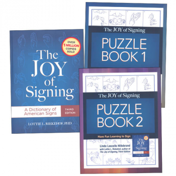 Joy of Signing Complete Language Pack (all 3)