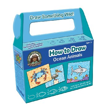 How to Draw Ocean Animals Art Kit