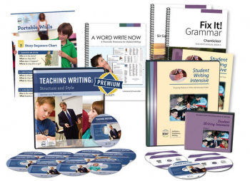 Deluxe Combo Teacher/Student Writing Package Level C (with Fix It! Grammar 5 & 6; Portable Wall; And Word Write Now) 201