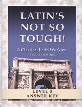 Latin's Not So Tough Level 3 Full-Text Answer Key