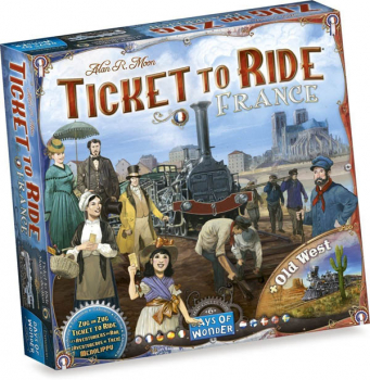 Ticket to Ride France & Old West Map Collection/Expansion Volume 6