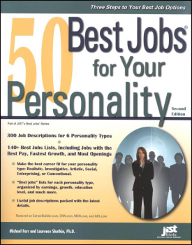 50 Best Jobs for Your Personality 3rd Edition