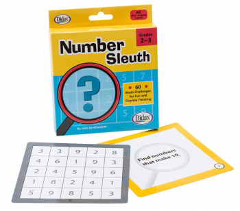 Number Sleuth Cards: Grades 2-3