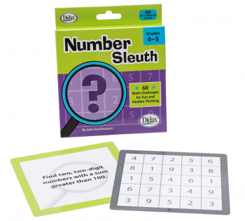 Number Sleuth Cards: Grades 4-5
