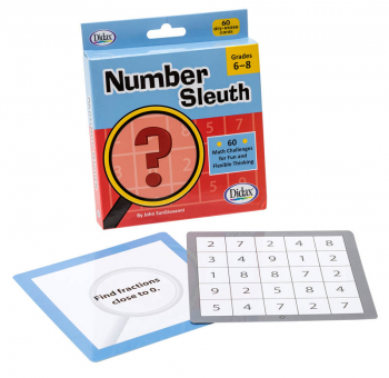 Number Sleuth Cards: Grades 6-8