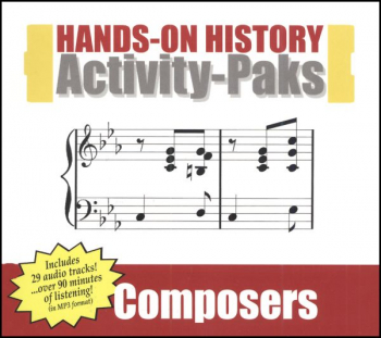 Hands-On History Activity-Paks - Composers
