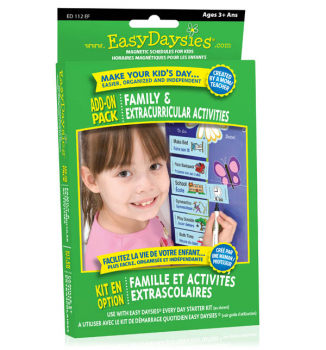 Easy Daysies Family & Extracurricular Activities Add-On Pack