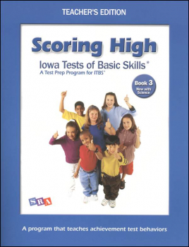 Scoring High ITBS Book 3 Teacher