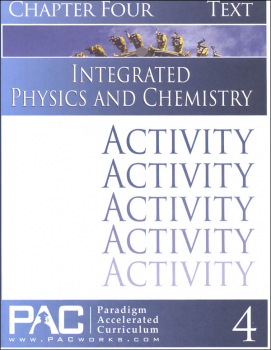 Integrated Physics and Chemistry Chapter 4 Activities