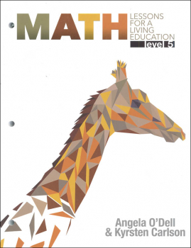 Math Lessons for a Living Education: Level 5 with Answer Key