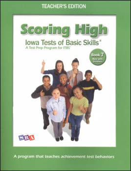 Scoring High ITBS Book 7 Teacher