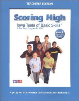 Scoring High ITBS Book 8 Teacher