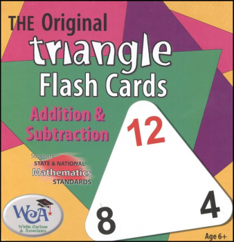 Triangle Flash Cards - Addition & Subtraction