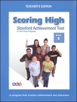 Scoring High SAT Book 8 Teacher