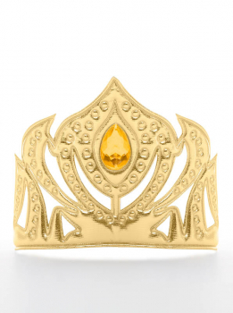 Scandinavian Princess Soft Gold Crown