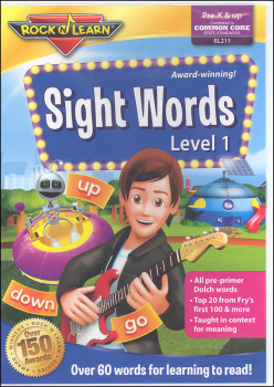 Sight Words Volume 1 DVD