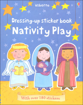 Dressing-Up Sticker Book - Nativity Play