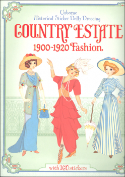 Country Estate 1900-1920 Fashion (Usborne Historical Sticker Dolly Dressing)