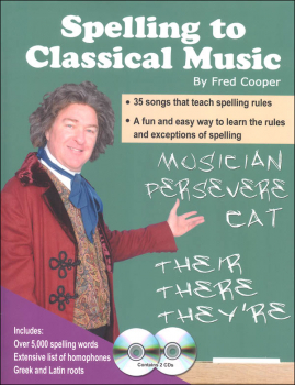 Spelling to Classical Music Book and CDs