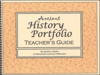 Ancient History Portfolio Teacher's Guide