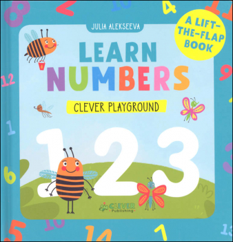 Learn Numbers Lift-the-Flap Book (Clever Playground)