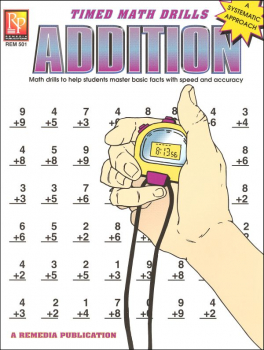 Timed Math Drills - Addition