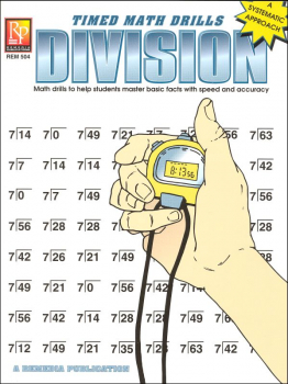 Timed Math Drills - Division