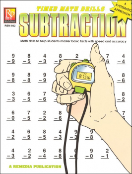 Timed Math Drills - Subtraction