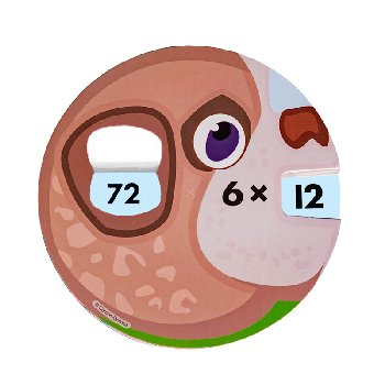 Math Wheels: Multiplication Facts
