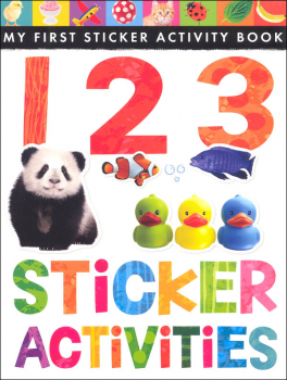 My First Sticker Activity Book: 123 Sticker Activities