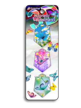 Butterfly Magic 3D Magnetic Bookmark